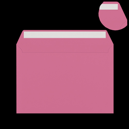 C5 Bright Pink Peel & Seal Envelopes