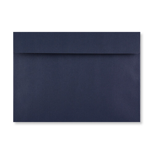 C6 DARK BLUE PEEL AND SEAL ENVELOPES