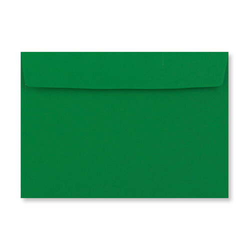 C5 Deep Green Peel & Seal Envelopes