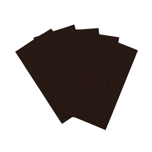 DL Dark Brown Peel & Seal Envelopes