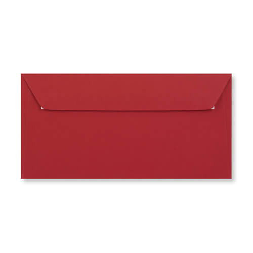 DL DARK RED PEEL AND SEAL ENVELOPES