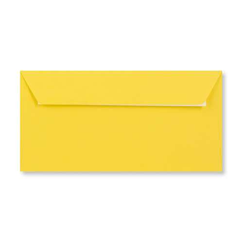 DL Mid Yellow Peel & Seal Envelopes