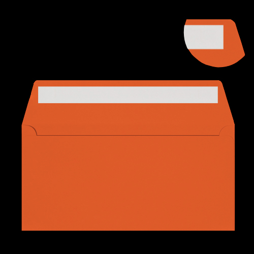 DL Orange Peel & Seal Envelopes