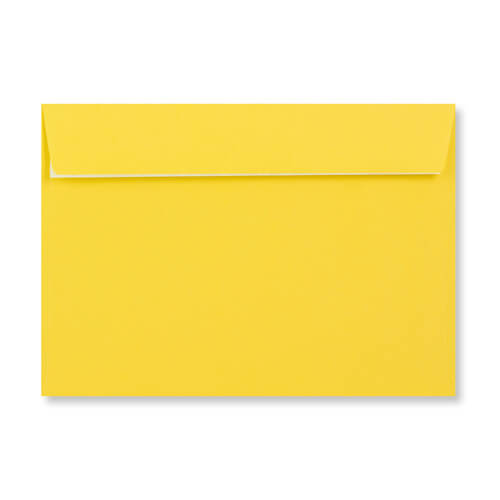 C5 Mid Yellow Peel & Seal Envelopes