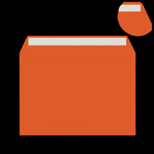 C6 Orange Peel & Seal Envelopes