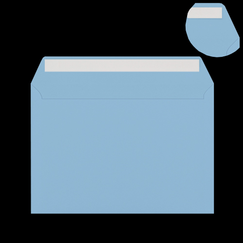C5 Pale Blue Peel & Seal Envelopes