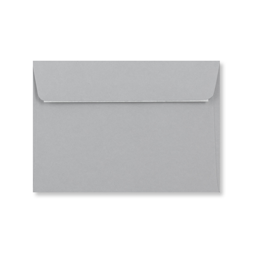 C6 Pale Grey Peel & Seal Envelopes
