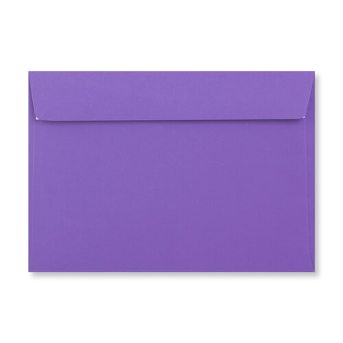 C6 PURPLE PEEL AND SEAL ENVELOPES