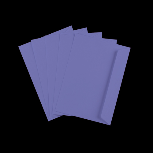 C5 Purple Peel & Seal Envelopes