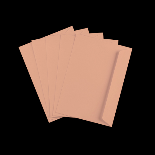 C5 Salmon Pink Peel & Seal Envelopes
