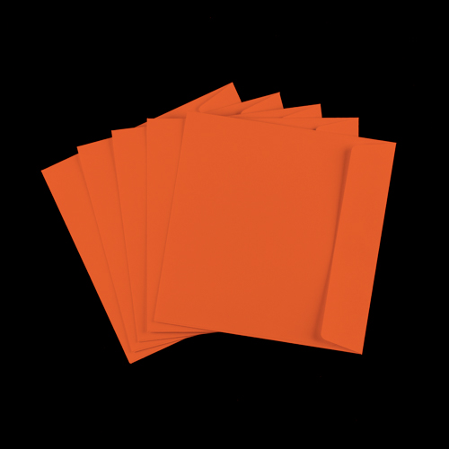 155mm Square Orange Peel & Seal Envelopes