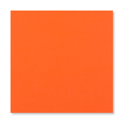 ORANGE 155MM SQUARE PEEL & SEAL ENVELOPES