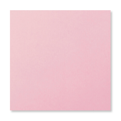 155mm Square Pale Pink Peel & Seal Envelopes