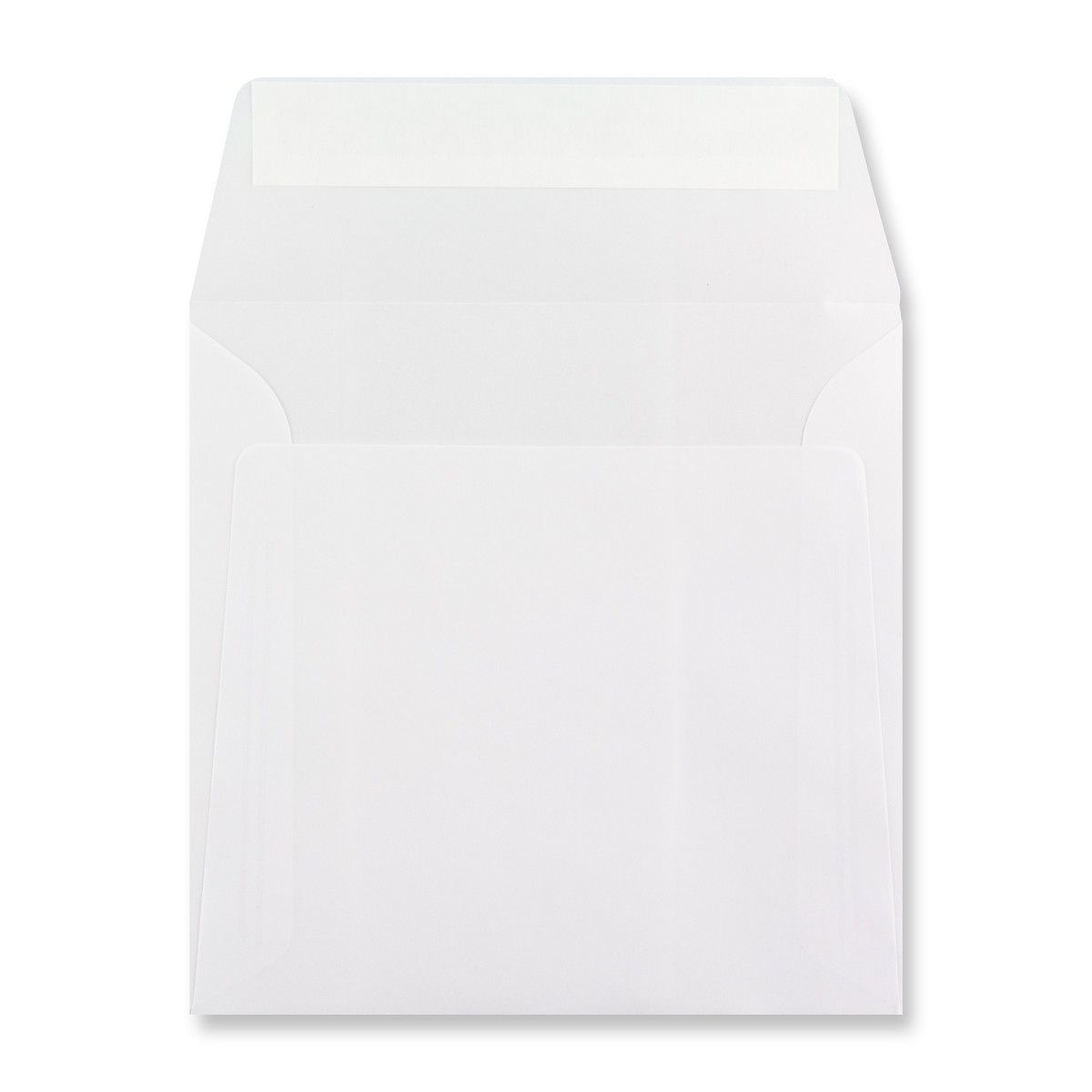 160 x 160MM WHITE TRANSLUCENT ENVELOPES