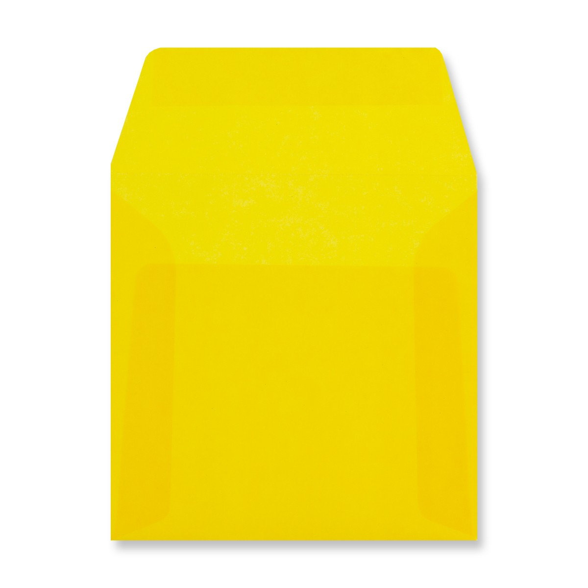 125 x 125MM YELLOW TRANSLUCENT ENVELOPES