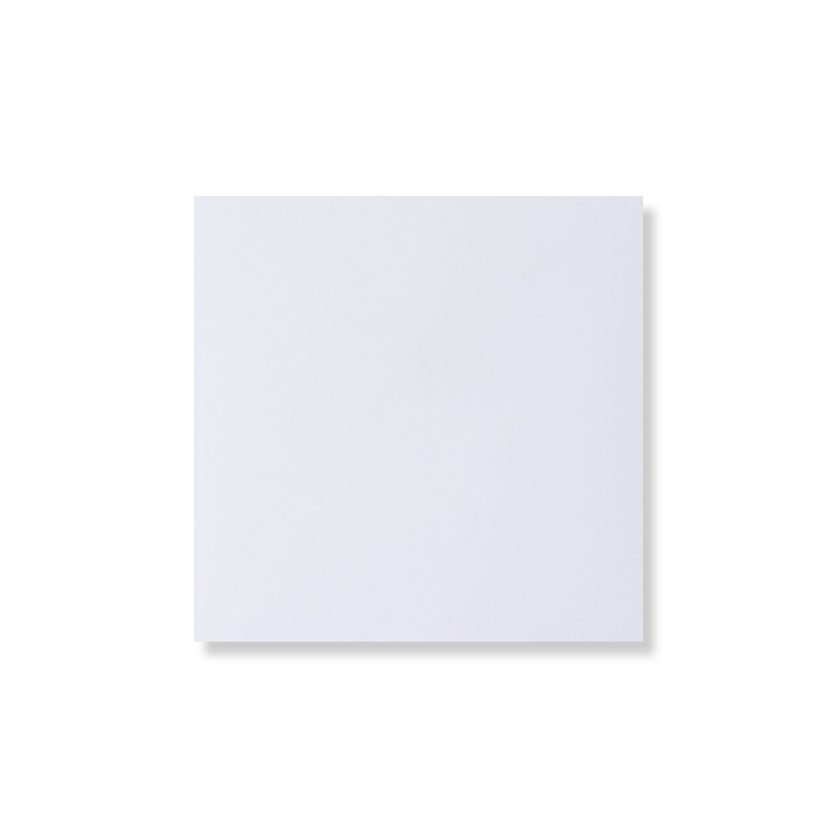 WHITE 140mm SQUARE ENVELOPE 120GSM