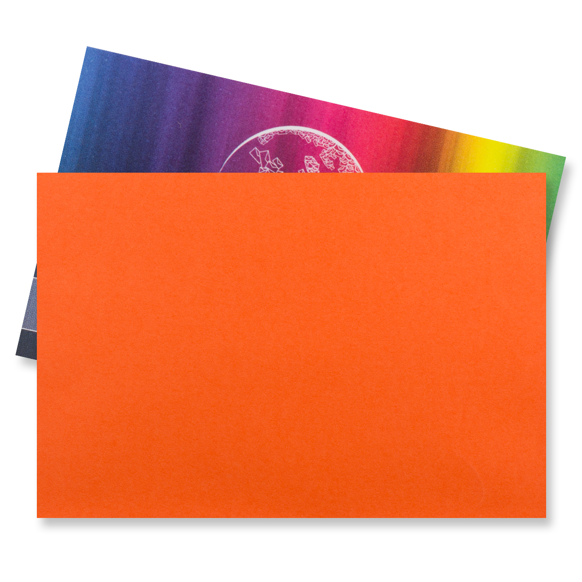 62 x 94MM ORANGE V-FLAP PEEL AND SEAL ENVELOPES