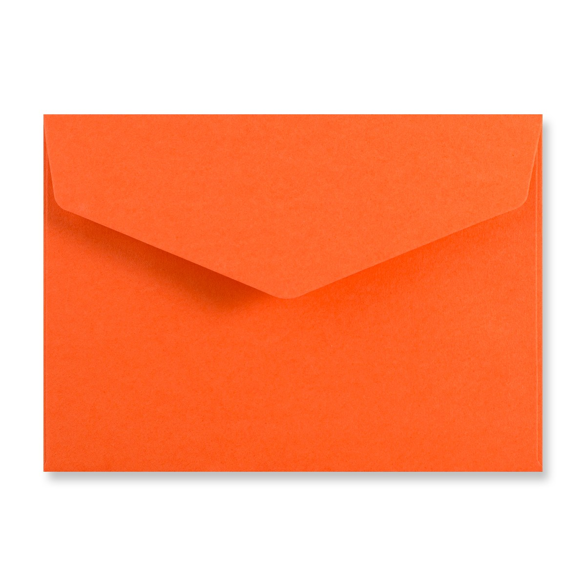 C6 ORANGE V-FLAP PEEL AND SEAL ENVELOPES