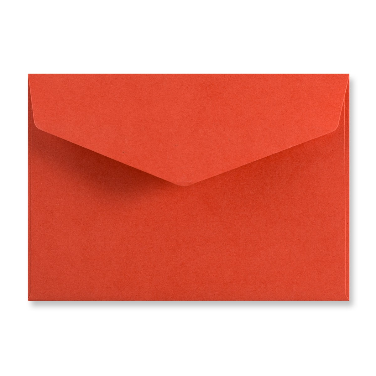 C6 RED V-FLAP PEEL AND SEAL ENVELOPES