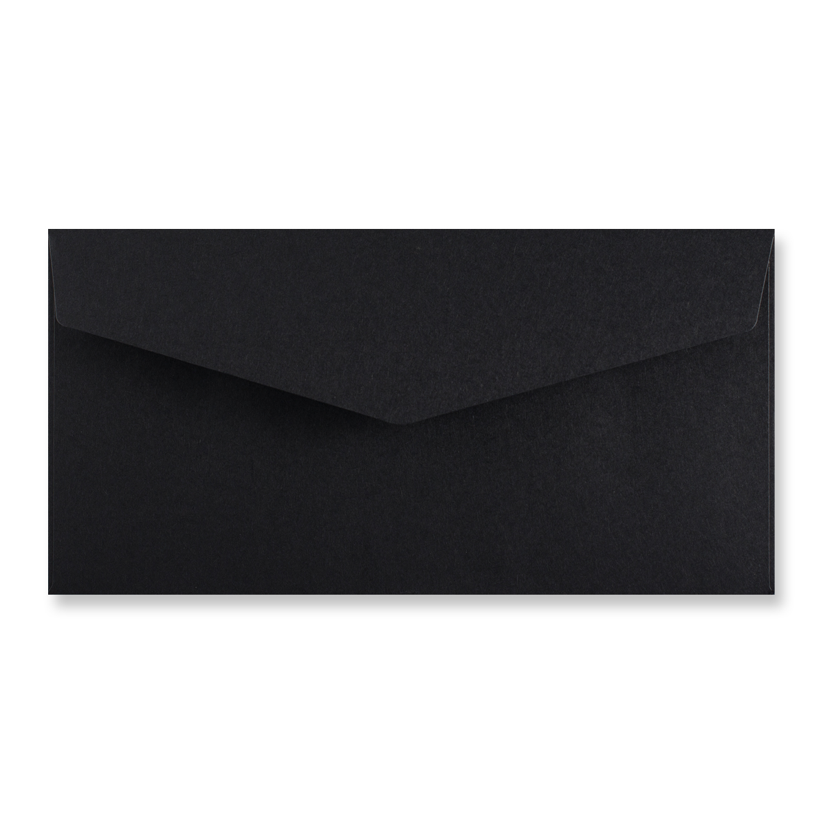 DL BLACK V-FLAP PEEL AND SEAL ENVELOPES
