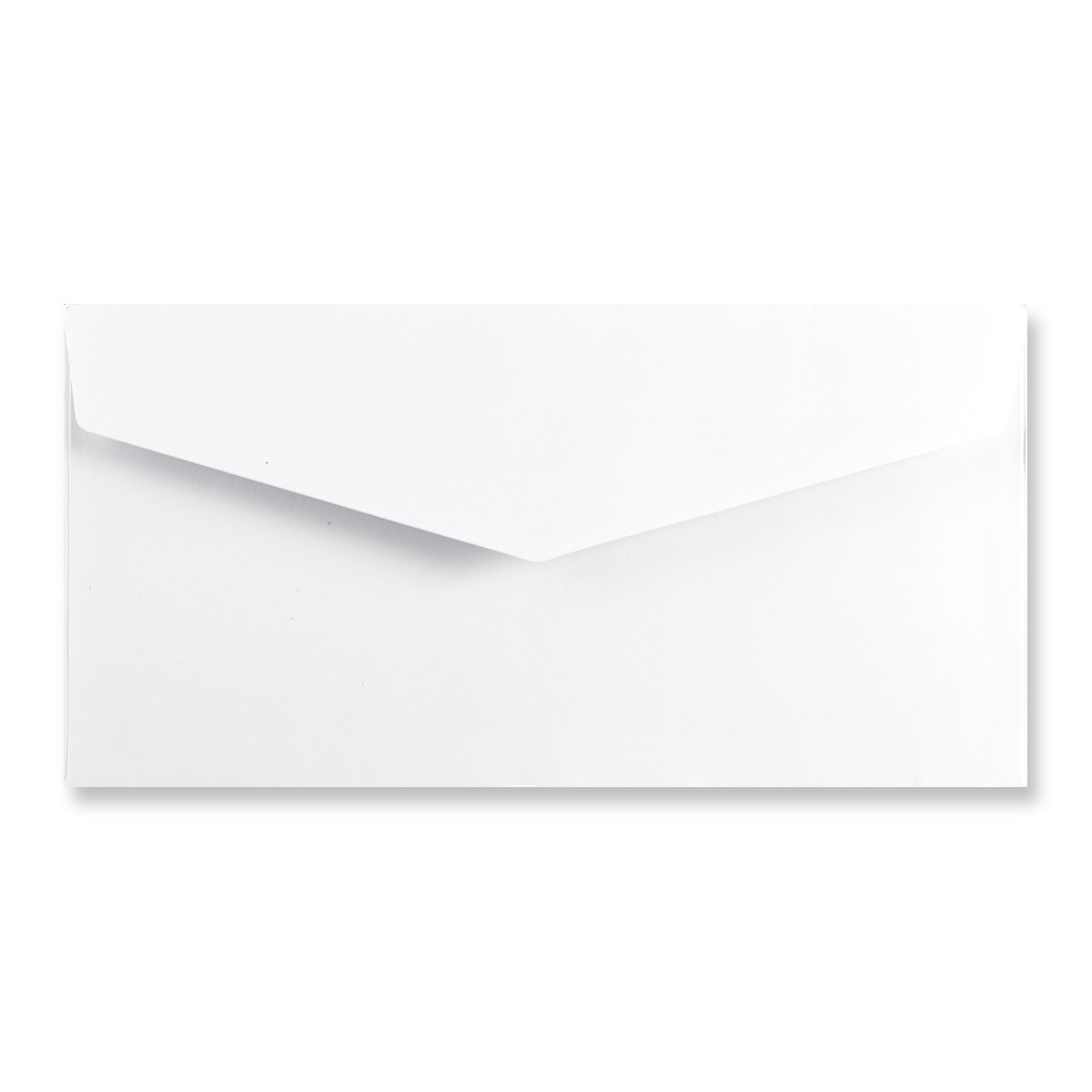 DL WHITE V-FLAP PEEL AND SEAL ENVELOPES