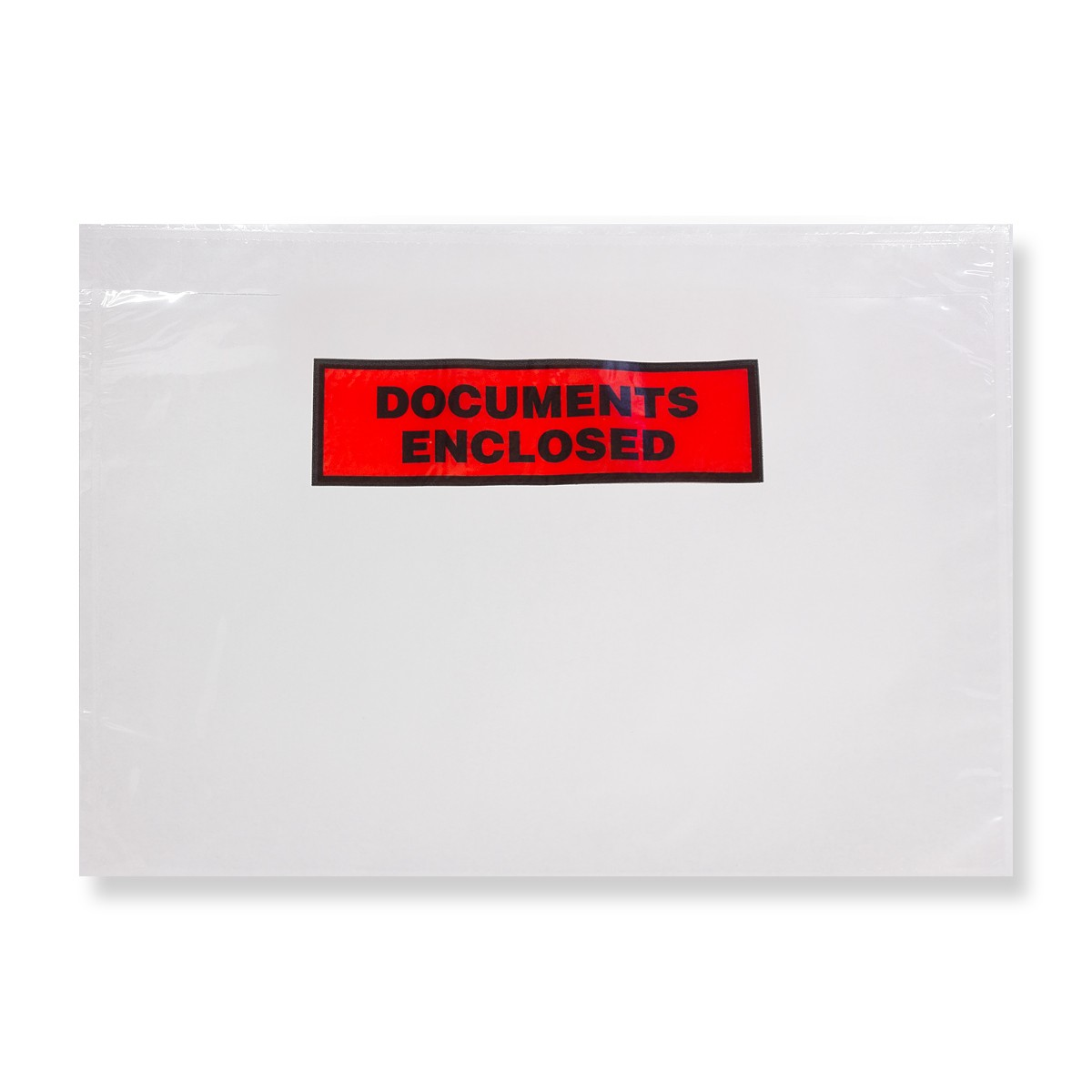 315 x 235mm CLEAR DOCUMENTS ENCLOSED WALLETS PRINTED