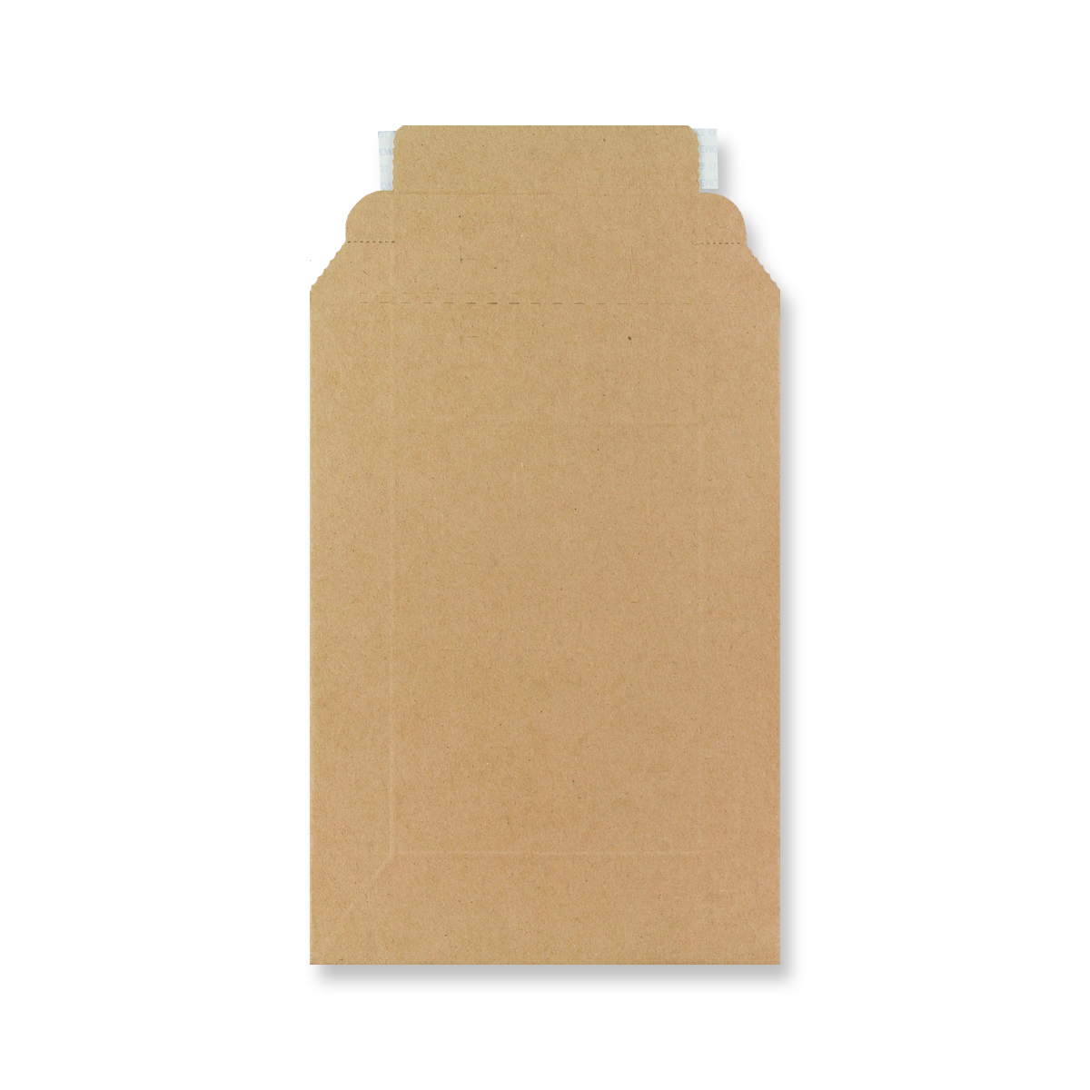 185 x 125mm MANILLA RIGID MAILER FLUTE ENVELOPES