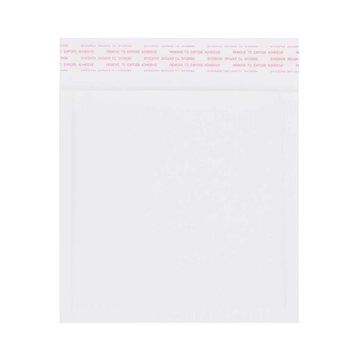 165 x 165mm WHITE PAPER PADDED ENVELOPES