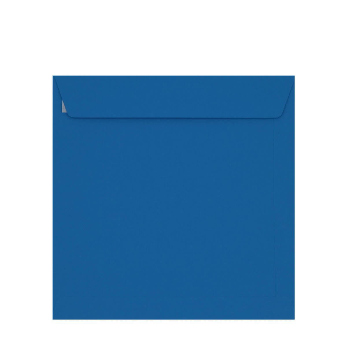 BRIGHT BLUE 220mm SQUARE PEEL & SEAL ENVELOPES