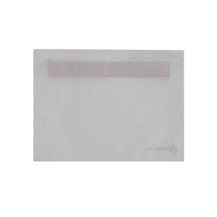 C5 RECYCLABLE PAPER DOCUMENTS ENCLOSED WALLETS PRINTED (229 x 162mm)