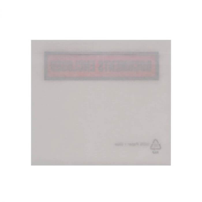 C7 RECYCLABLE PAPER DOCUMENTS ENCLOSED WALLETS PRINTED (82 x 113mm)