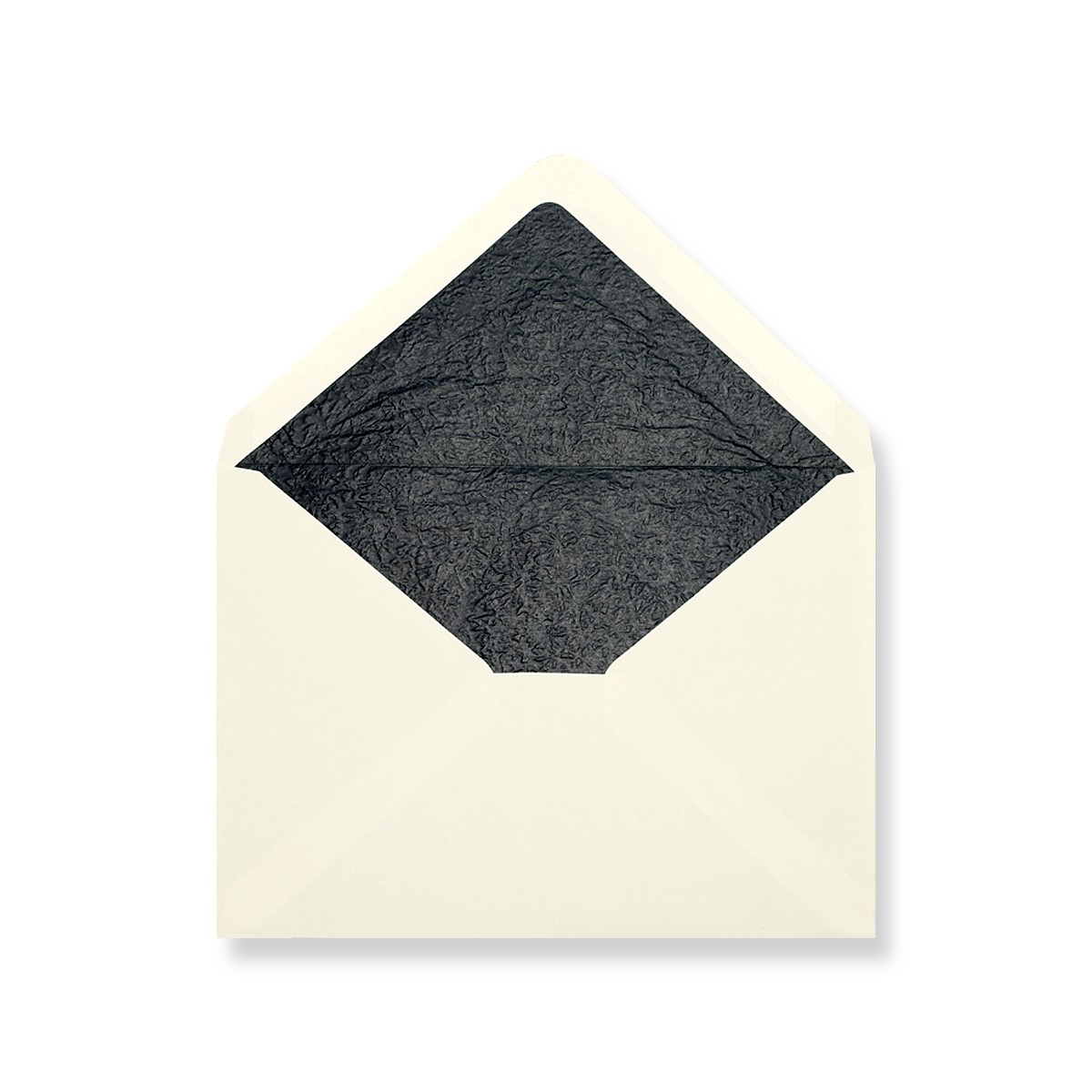 C7 Ivory Envelopes Lined With Black Paper
