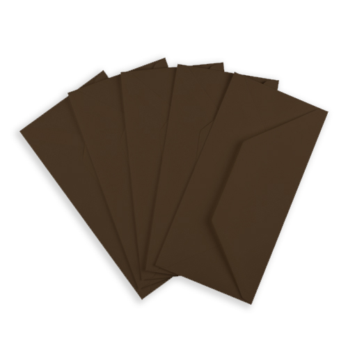 DL CHOCOLATE BROWN ENVELOPES