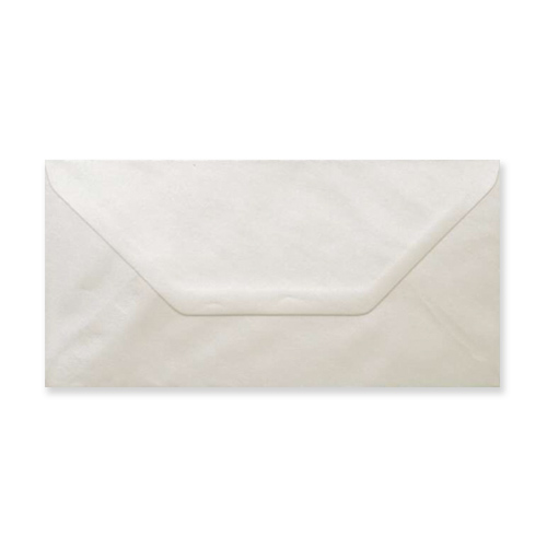 DL Pearl Oyster White Envelopes
