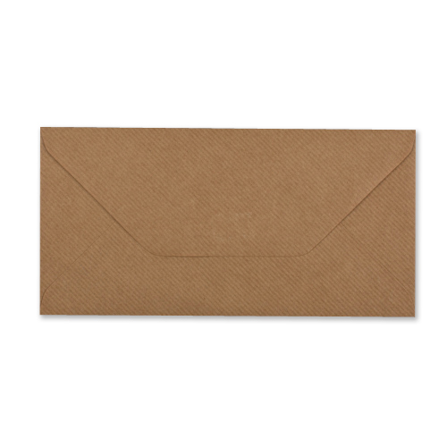 DL RIBBED KRAFT ENVELOPES