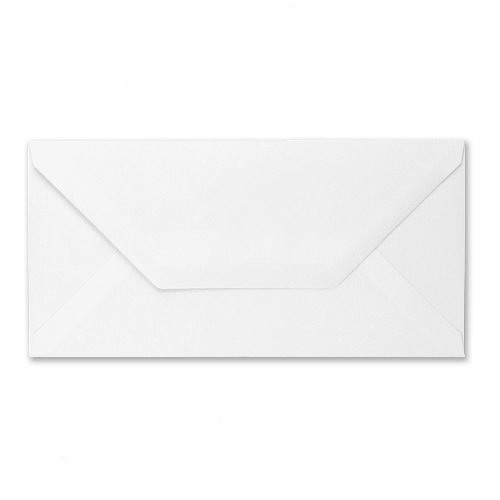 DL White Recycled Envelopes