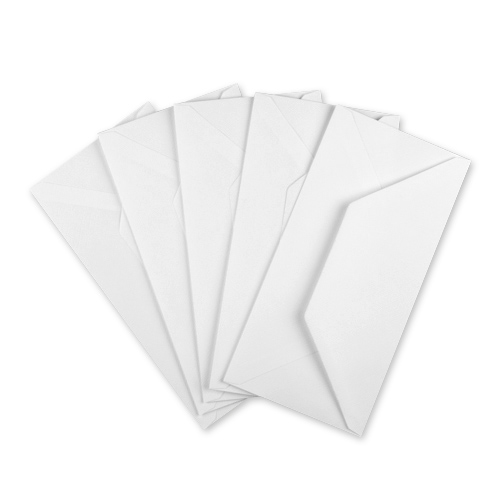 DL RECYCLED WHITE ENVELOPES