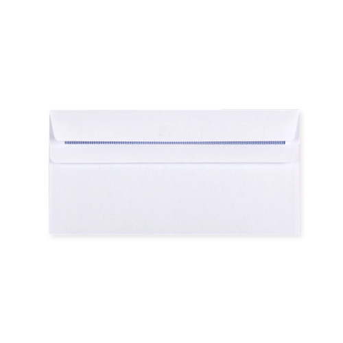 DL WHITE SELF SEAL WALLET ENVELOPES 90GSM