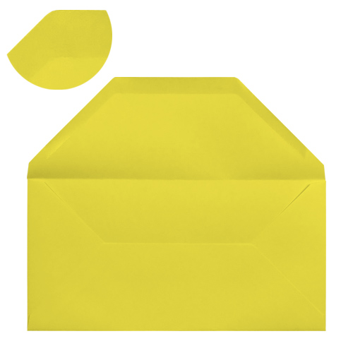 DL DAFFODIL YELLOW ENVELOPES