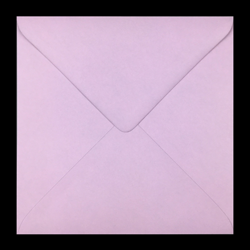 155mm Square Baby Pink Envelopes