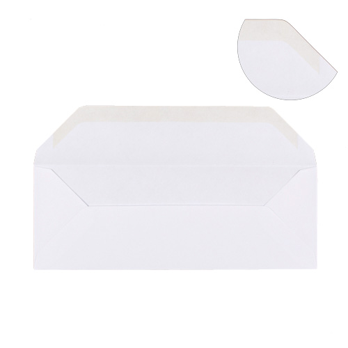 WHITE 115 x 315 mm ENVELOPE (i7)