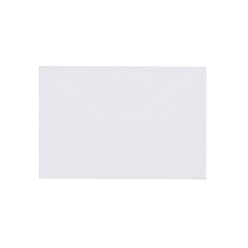 WHITE 60 x 90 MM GIFT TAG ENVELOPE (i1)
