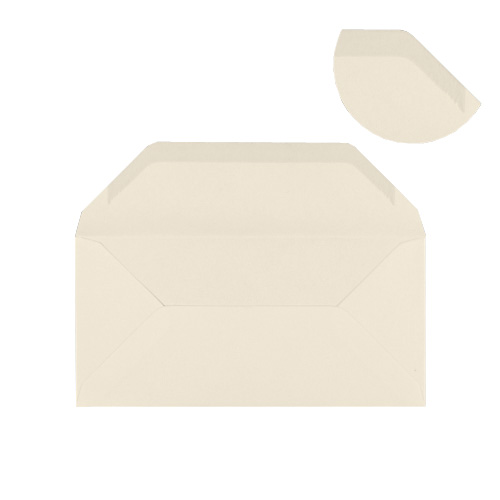 IVORY 80 x 215 mm ENVELOPES (i3)