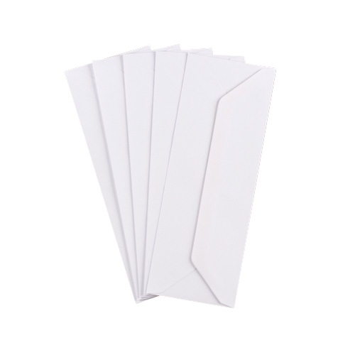 WHITE 80 x 215 mm ENVELOPES (i3)