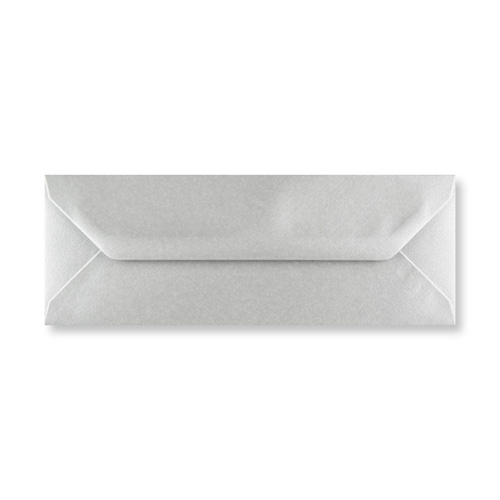 METALLIC SILVER 80 x 215 mm ENVELOPES (i3)