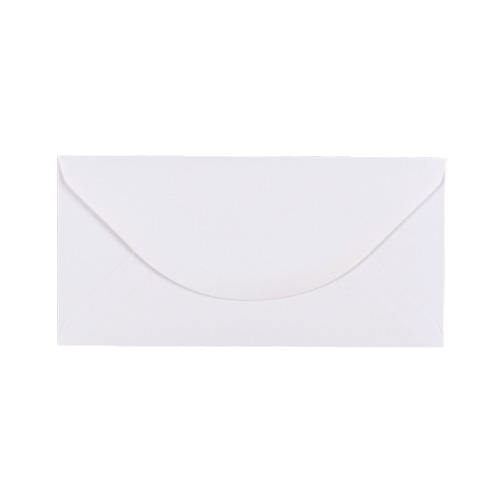 WHITE 89 x 183 mm ENVELOPES (i4)