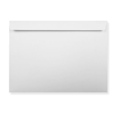 WHITE 133 x 184 mm PEEL AND SEAL ENVELOPES (i8)