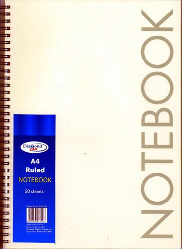 A4 Ruled Notebook