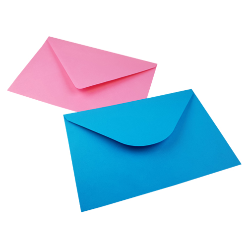 C5+ Pink/Blue Envelopes