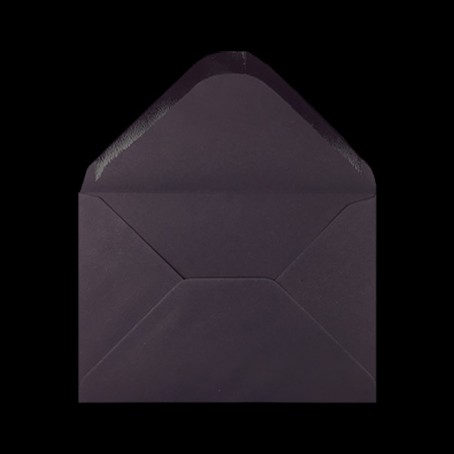 C6 Dark Plum Envelopes Flap